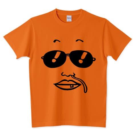 オリジナルイラスト 似顔絵(2)サングラス Tシャツ