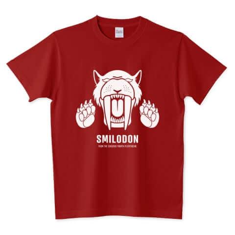 スミロドン(サーベルタイガー) Tシャツ
